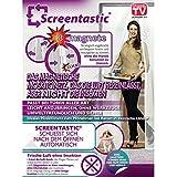 Screentastic® Magnetisches Moskitonetz für Türen Netzgewebe Größe: 100 x 220 - Original aus TV-Werbung