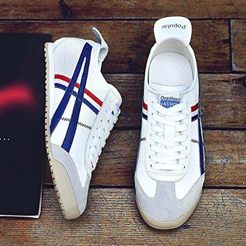 ZXCV Scarpe all'aperto Scarpe sportive scarpe comode da uomo per le scarpe da uomo Bianca