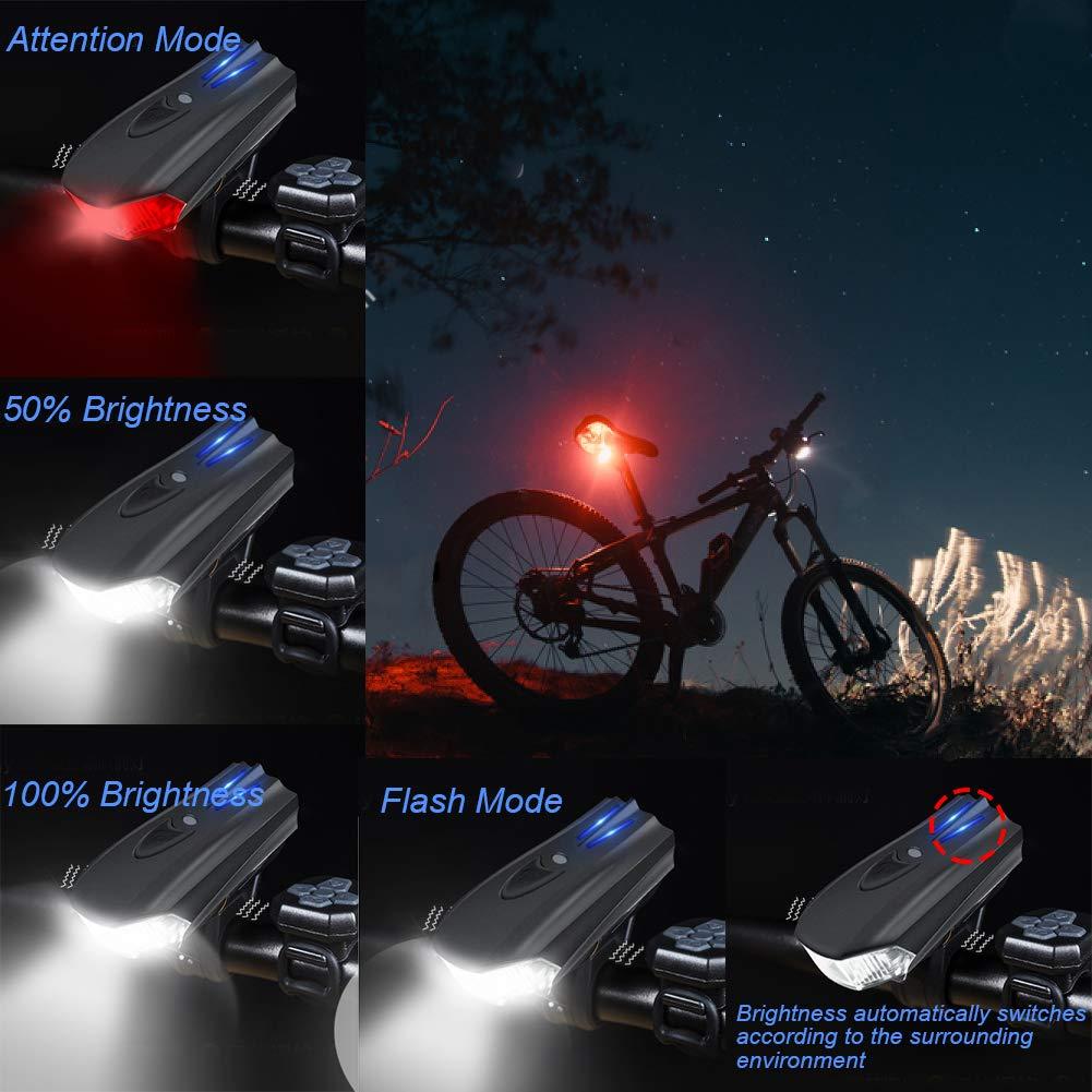 b55b4b39c51db WOSTOO LED Luz Bicicleta