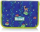 Scout Schulranzen-Set Etui 28 tlg Sunrise 20 cm Blau 66050050500