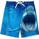 Spreadhoodie Boys Swimming Trunks 3D Hawaiian Teenager Funny Swim Shorts Quick Dry Swimwear Kids Board Trunks with Two…
