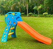 BabyGo Nara Toy Slide for Kids at Home and School (140 cm x 80 cm x 60cm)( Foldable)