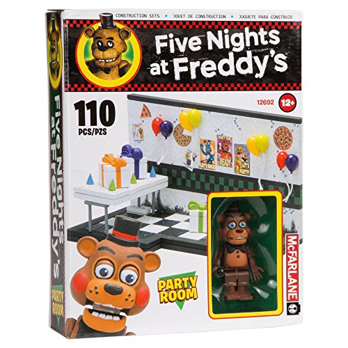 Image of McFarlane Toys Five Nights At Freddy's Party Room Construction Building Kit