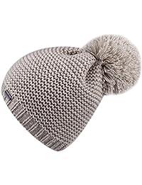 be9a6101b5b Women s Winter Pom Pom Hat - Wool Knit Beanie Hats For Women Girls FURTALK  Original