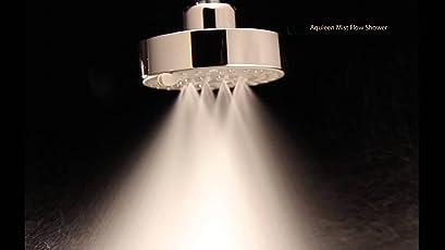 "Aquieen H2Micro 4"" Round 5 Function Mist & Rain Overhead Shower"