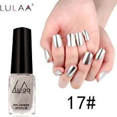 Igemy Mirror Nail Polish Plating Silver Paste Metal Color Stainless Steel