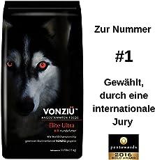 VONZIU Elite Ultra Hundefutter 15kg / Trockenfutter reich an Fischöl/Vitaminen / Mineralien – Für Kleine & große Hunderassen – Hochenergetische Tiernahrung - 100% Natürliche Zutaten