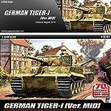 1/35 GERMAN TIGER-I VER.MID ACADEMY #13287 by Academy