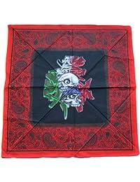 Amazon.fr   bandana rouge - destockandco (vendeur francais)   Vêtements 4ddba571fbd