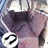 anfayejia impermeable cubierta de asiento lavable perro hamaca estera de protección para coches SUV y Camiones cafetera