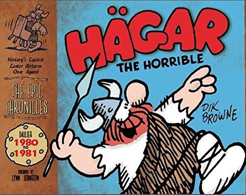 Hagar the Horrible: Dailies 1980-81 (Epic Chronicles) por Dik Browne