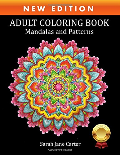 PDF] Adult Coloring Book: Mandalas and Patterns (Sarah Jane ...