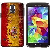 Graphic4You España bandera española Carcasa Funda Rigida para Samsung Galaxy S5