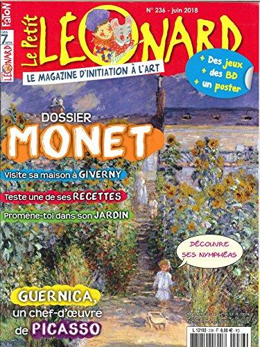 Le Petit Léonard N 236 Monet, Exposition a Giverny - Juin  2018 par Collectif
