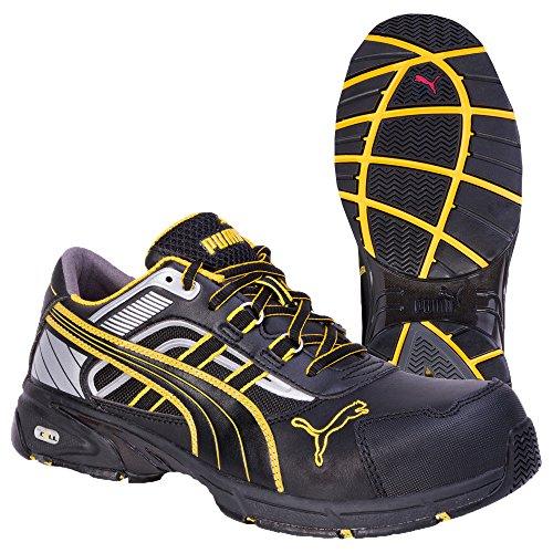 new style 5558d 6257d Puma Safety Shoes Pace Black Low S3 HRO SRA, Puma 642500-263 Unisex-