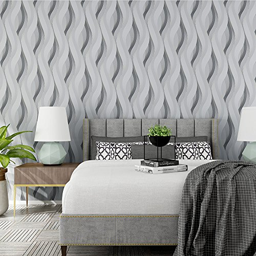 modern-abstract-style-wavy-lines-ripples-3d-textured-wallpaper-silver-grey-33-10m-full-roll