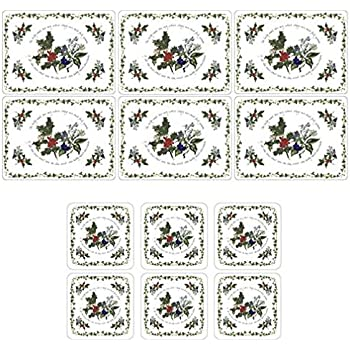 Pimpernel Victorian Christmas Coasters Set of 6 X0010268832
