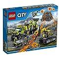 LEGO City Volcano Explorers 60124 Volcano Exploration Base Building Kit (824 Piece) by LEGO