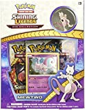 Pokemon Shining Legends Mewtwo Pin Collection Trading Card Game