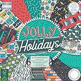 First Edition Weihnachten, mehrfarbig, First Edition Christmas - Jolly Holidays Premium Paper Pad 12