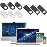 AJOXEL Cubierta Webcam (9 Unidades), Webcam Cover Slider 0.027in Ultra Fino Tapa Webcam para Macbook Pro, Cámara,Laptop, Mac,