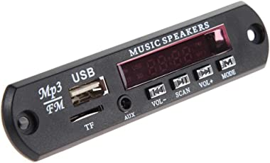 prettygood7Auto Decoder, Stereo Musik MP3WMA in Dash Kopf Auto DVD Player mit Touch Screen LCD Monitor Board 12V Audio Decoder Board Modul USB TF FM