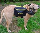 Hunderucksack, (Grün) zur Beruhigung ängstlicher Hunde, Grösse L 76-98cm Brustumfang, für grosse Hunde, wie Rottweiler, Dobermann, Mastiff