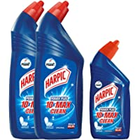 Free Harpic Toilet Cleaner, Original - 500 ml with Harpic Toilet Cleaner Liquid - 1 L (Pack of 2)