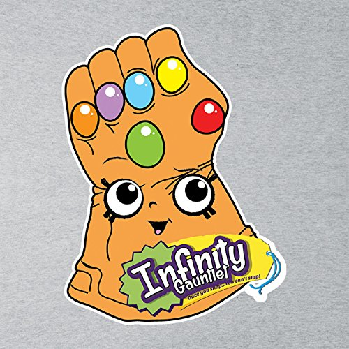 Infinity Gauntlet Once You Shop Guardians Of The Galaxy Men's T-Shirt Heather Grey
