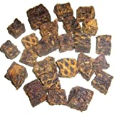 Grobys Wild Happen 100 % Wildfleisch getrocknete Belohnung im 4 x 250 gr. Beutel = 1 Kilo Wild Fleischwürfel