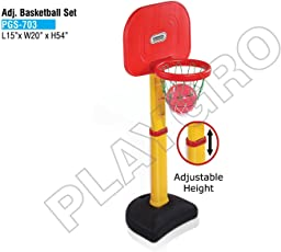 Playgro Adjustable Basketball 703 For Kids (Colour May Vary)