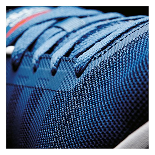 adidas Herren Cloudfoam Flow Sneaker Azul (Azucen / Azucen / Rojbri)