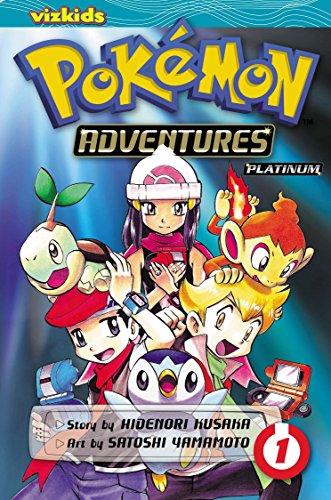 Pokemon Diamond and Pearl Platinum. Volume 1