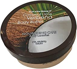 Wokali Coconut Line Verbena Body Butter 200g