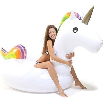 Gigante gonfiabile unicorn unicorn galleggiante piscina unicorn galleggiante piscina amazon - Unicorno gonfiabile piscina ...