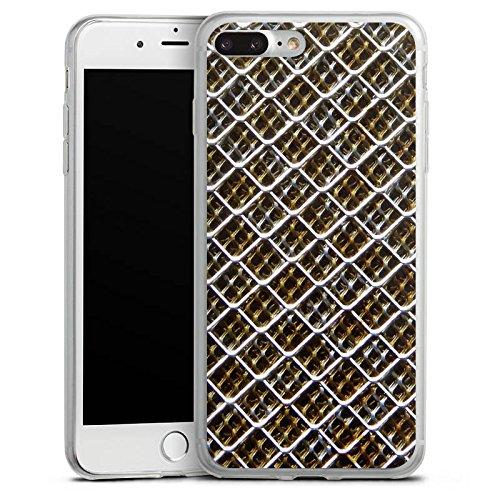 Apple iPhone 8 Slim Case Silikon Hülle Schutzhülle Maschendraht Zaun ...