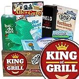King of Grill  Pflegeset   Geschenkkorb   King of Grill   Pflegepaket   Geburtstagsgeschenk Frauen  mit Florena Creme, Elka Dent, Badusan und mehr