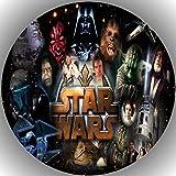 Fondant Tortenaufleger Tortenbild Geburtstag Star Wars T18