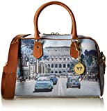 YNOT-Bauletto-Sac--Main-femme-multicolore-Multicolore-Weekend-in-Rome-30x245x124-cm-W-x-H-x-L-EU