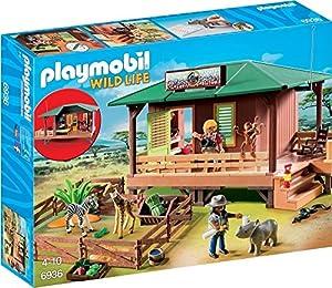 veterinario animales: Playmobil Vida Salvaje - Clínica Veterinaria de África (6936)