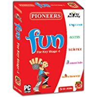 PIONEERS - FUN, For Key Stage - 1 : Pack of 3CDS : Age 5-9 Years : English | Environmental | General Knowledge | Science | Maths