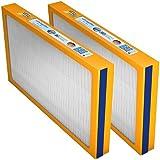 Swirl Ersatzfilter-Set (G4 + F7) für Viessmann Vitovent 300 W (300/400m³) ab 02/13, Wolf CWL 300/400 Excellent (o. Bypass) (1 x F7 Pollenfilterkassette, 1 x G4 Filterkassette)