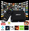 [2016 NEW] Tv Box M8S+ XingYa-Tech android tv box support 4k function with Newest CPU Amlogic S905 Quad Core 1GB/8GB YouTube Netflix KODI fully Loaded