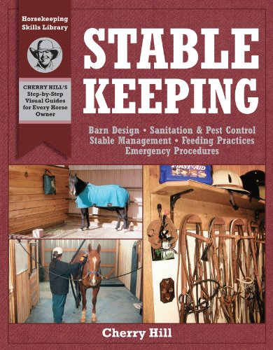 Stablekeeping: A Visual Guide to Safe and Healthy Horsekeeping (Horsekeeping Skills. Book 3) (English Edition) (Englisch Pony-tack)