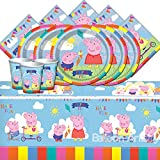 """Entertainment One BPWFA-104 """"Peppa Pig"""" Table Set for 16"""