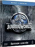 Jurassic World (Edition limitee Steelbook) - Combo Blu-ray + Copie digitale [Blu-ray] [Blu-ray + Copie digitale - Édition boîtier SteelBook]