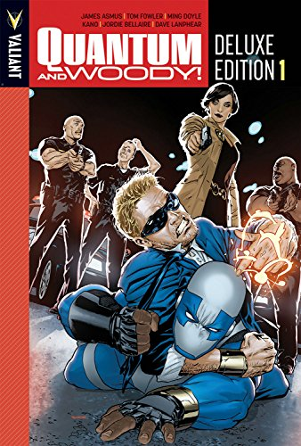 Quantum and Woody Deluxe Edition Book 1 (Quantum & Woody DLX Hc)