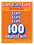 Elvis Elvis Elvis: 100 Greatest Hits. Partitions pour Piano, Chant et Guitare(Boîtes d'Accord)