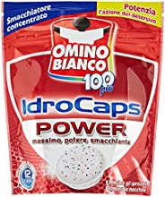 Omino Bianco-idrocaps Power, Quitamanchas Concentrado, 12Cápsulas-240g