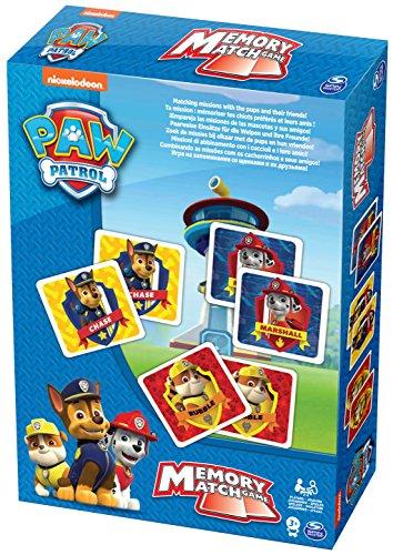 PAW PATROL Spin Master 6033301Memory-Spielkarten
